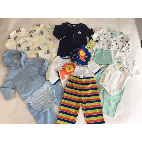 27d9f1cb186f Lot Baby Boys Clothes Outfits Carter s First year